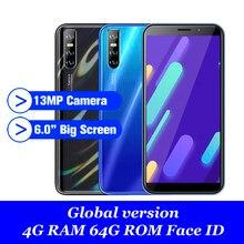 Quad core M30s 4GB RAM 64GB ROM 5MP + 13MP 6,0 zoll smartphone Gesicht ID entsperrt Globalen mobilen telefon Wifi android günstige celulares 3G