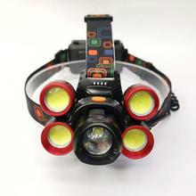 Новый t6 * cob на открытом воздухе сильные светильник аккумуляторная
