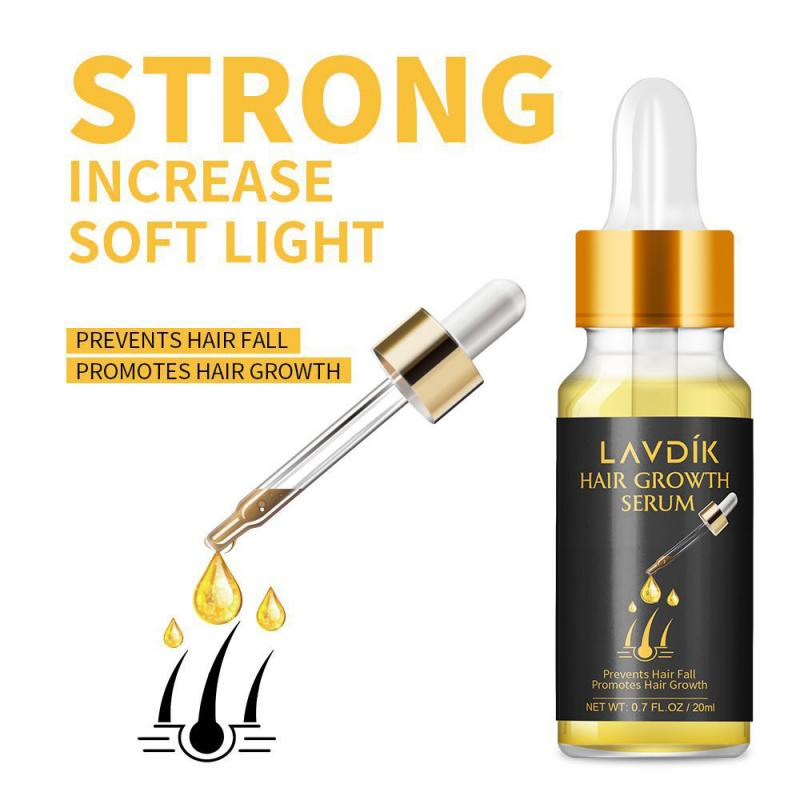 Unisex Hair Growth Serum Ginger Fast Growth Essential Oil Anti Preventing Hair Lose Liquid Damaged Hair Repair Growing TSLM2