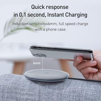 Baseus 15 Вт Qi беспроводное зарядное устройство 3