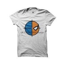 Camisa dos homens T camisa Exterminador símbolo branco tshirts T-Shirt Das Mulheres