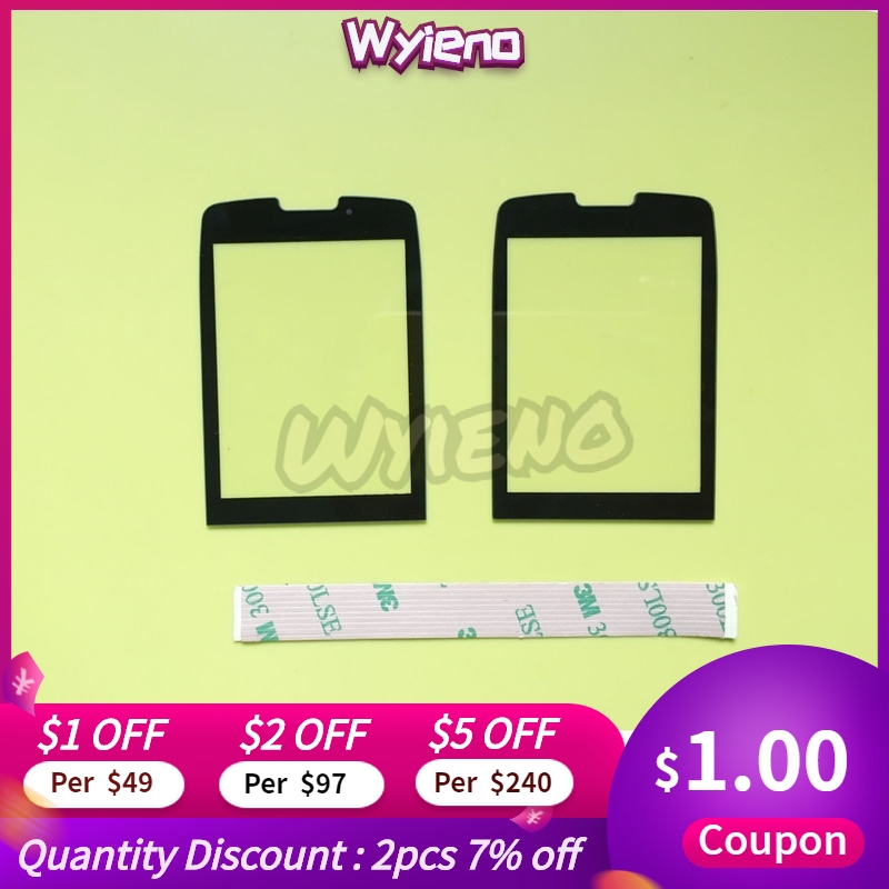 Wyieno X5500 Outer Glass Screen For Philips Xenium X5500 Glass Lens Front Panel ( Not Touch Screen Sensor) Tracking