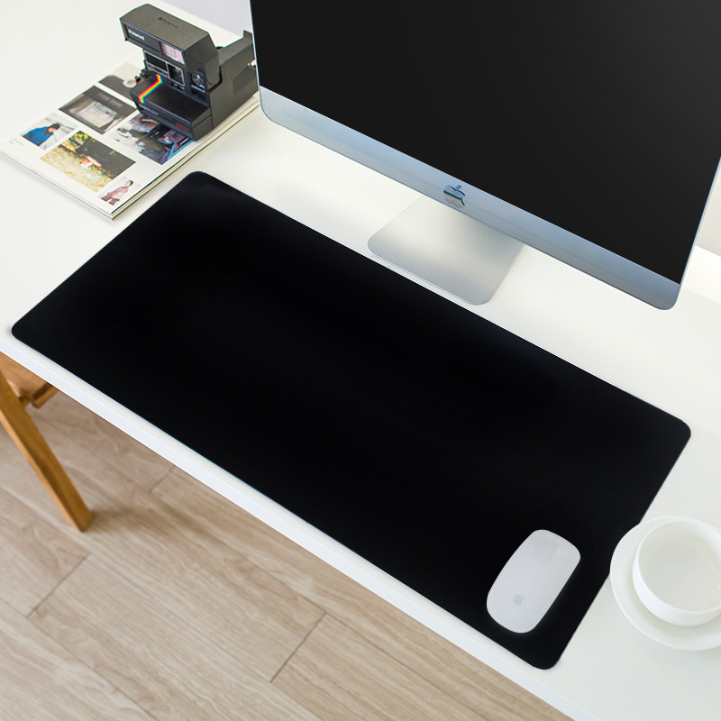 Art All Black /White <font><b>Mouse</b></font> Pad Gamer Large XXL <font><b>Gaming</b></font> <font><b>MousePad</b></font> Rubber Computer Office Locking Edge <font><b>Keyboard</b></font> pad Laptop Desk Mat image