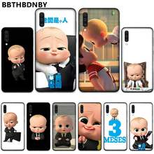 Cool Baby boss Soft Silicone TPU Phone Cover For Samsung A20 A30 30s A40 A7 2018 J2 J7 prime J4 Plus S5 Note 9 10 Plus(China)