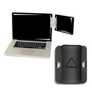 Мульти экран поддержка ноутбука Боковое крепление соединяет планшет кронштейн двойной тройной монитор Дисплей клип Регулируемая подставк...