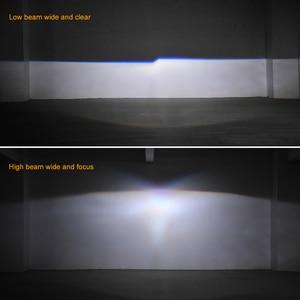 Image 5 - ミニ2.5インチバイキセノンプロジェクターレンズマスクシルバーシュラウドのためフィットH4 h7ソケット車のヘッドライトヘッドランプ使用H1キセノンled電球