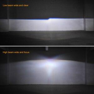 Image 5 - Mini 2.5 inch Bi Xenon Projector Lenses Mask Silver Shroud  fit for H4 h7 Socket Car Headlight Headlamp Use H1 Xenon LED Bulb