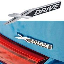 Автомобильный брызговик для багажника XDRIVE эмблема, наклейка с логотипом для BMW X1 X2 X3 X4 X5 X6 X7 M2 M3 M4 M5 M6 M8 E46 E90 E91 E39 E60 F10 аксессуары