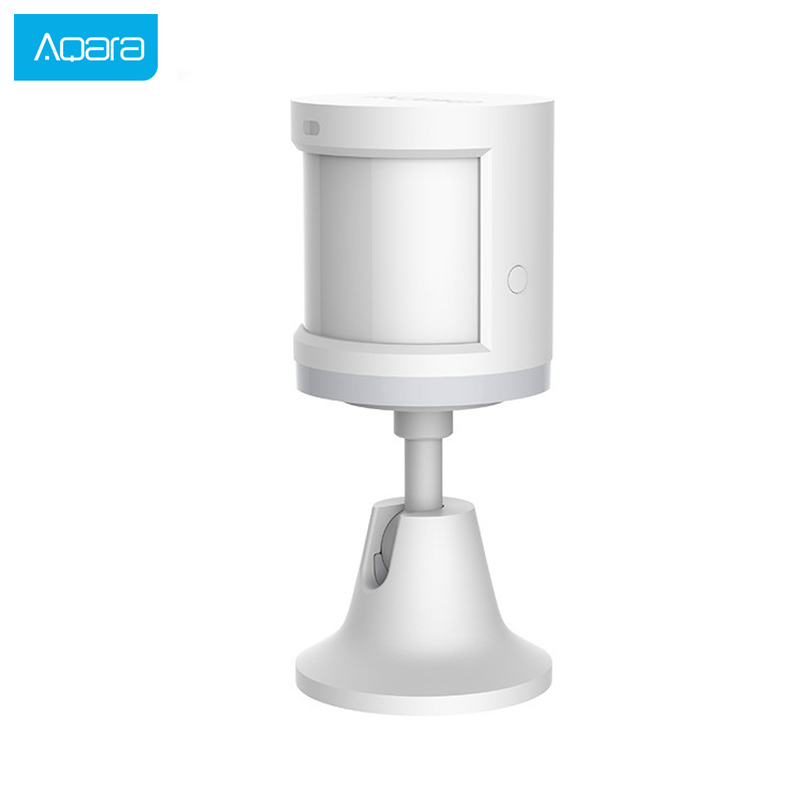 Aqara Human Body Sensor Smart Body Movement Motion Sensor Zigbee Connection Holder Stand Mihome App Via Android&IOS