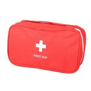 Image 5 - 휴대용 응급 처치 키트 응급 가방 방수 자동차 키트 가방 야외 여행 생존 키트 빈 가방 23*13*7.5cm