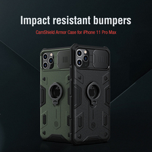 For iPhone 11 Pro Max Case NILLKIN CamShield Armor Case Lens protection Anti fall phone case For iPhone 11 Pro Max
