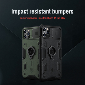Image 1 - For iPhone 11 Pro Max Case NILLKIN CamShield Armor Case Lens protection Anti fall phone case For iPhone 11 Pro