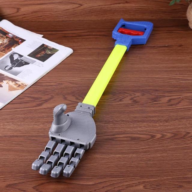 56cm Robot Claw Hand Grabber Grabbing Stick Kid Boy Toy Robot Hand Wrist Strengthen DIY Robot Grab Toys 3