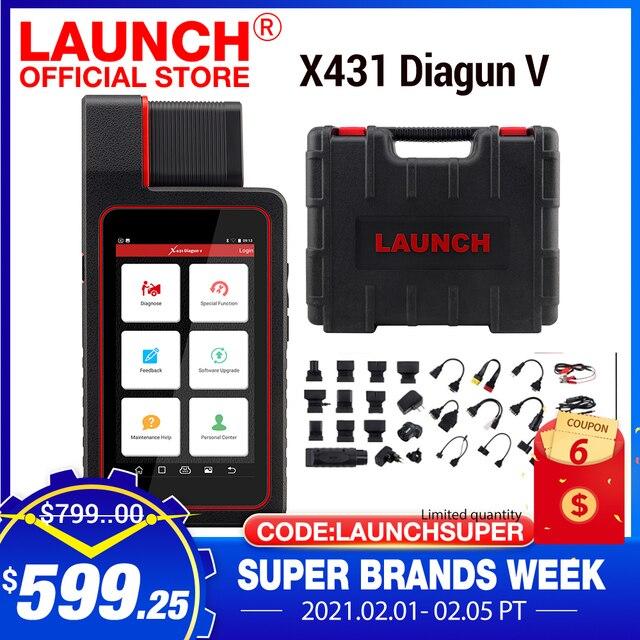 起動X431 diagun v OBD2自動診断systemcodeリーダースキャナobdii obdスキャンツールの更新オンラインpk MK808 CRP909E