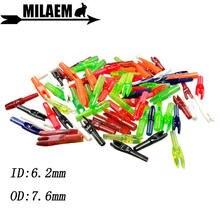 50 шт стрелы для стрельбы из лука карбоновые кулачки пластиковые