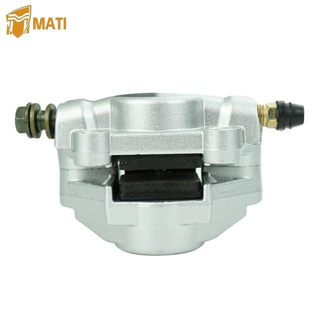 rear disc brake caliper pump adapter for 50cc 70cc 90cc 110cc фотография