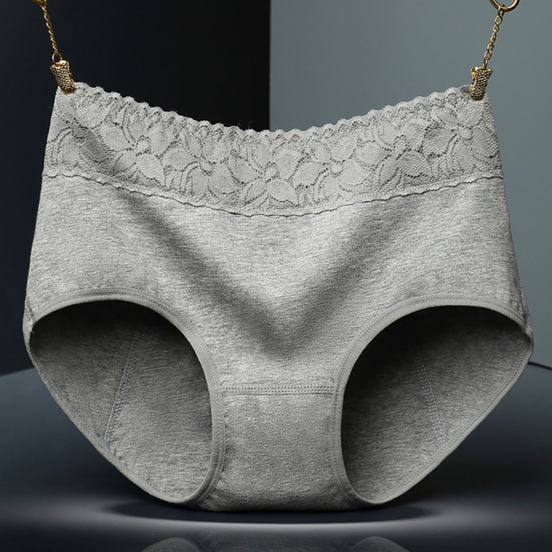 Female Underwear Pants Cotton Health Seamless Briefs Waist Warm Leak Proof Menstrual Women Underwear Period   Panties