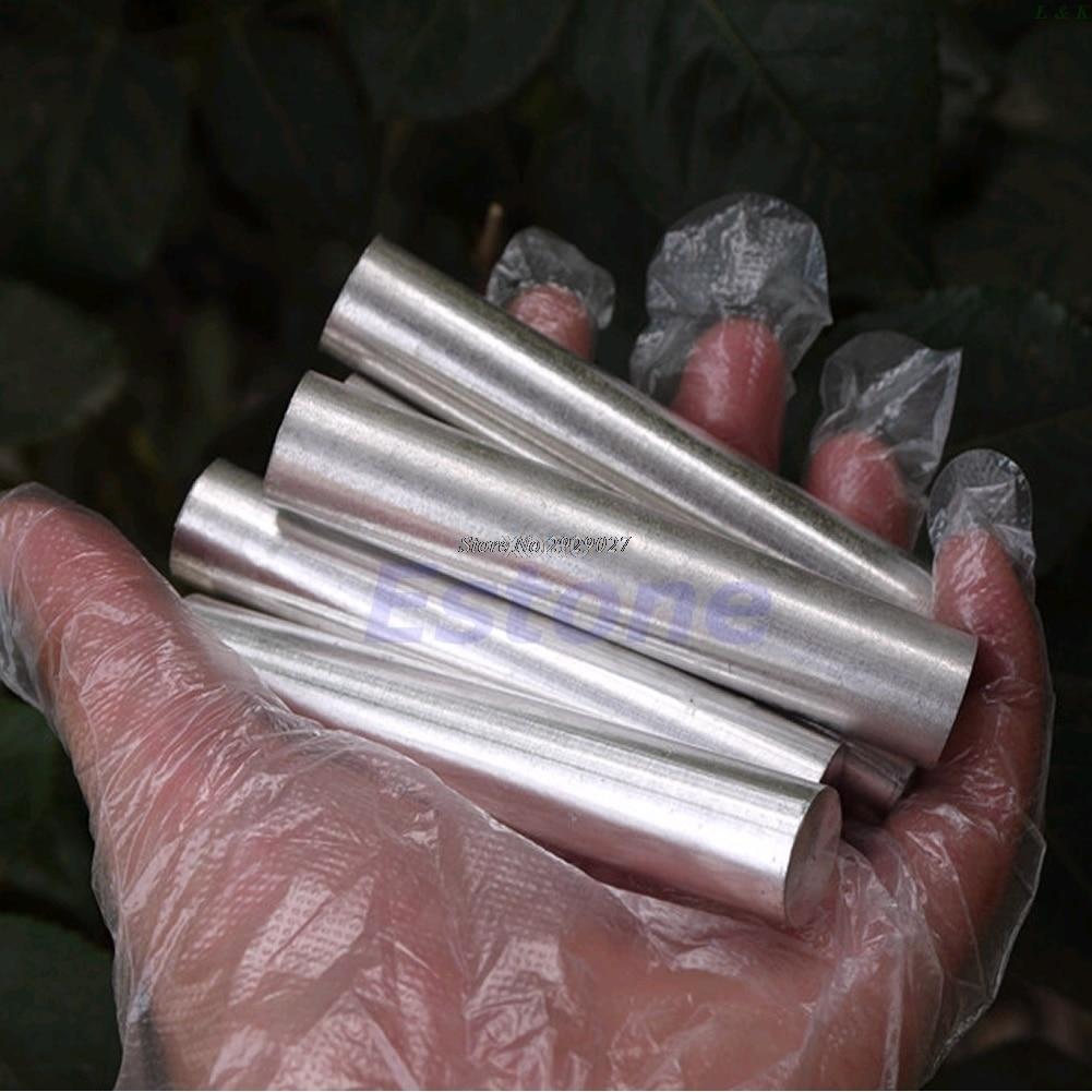 99.99% Magnesium Metal Rod Mg 18mm X 100mm High Purity High Quality   M10 Dropship