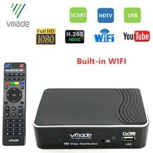 SINTONIZADOR DE DVB-T2 Digital para TV, decodificador DVB-T2 HD de 1080P con WIFI integrado, compatible con YouTube, H.265, HEVC, AC3