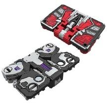 מיני גודל רובוט מצור המלחמה על סייברטרון Ravage + Laserbeak אדום חום + מארב קלאסי צעצועי ילד ילדי פעולה דמות עם תיבה