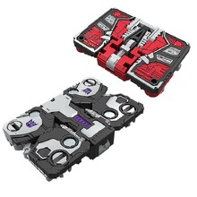 Tamanho Mini Robot War For Cybertron Ravage + Laserbeak Cerco Calor Vermelho + Vigilância Brinquedos Clássicos Para Crianças Menino Ação figura Com Caixa