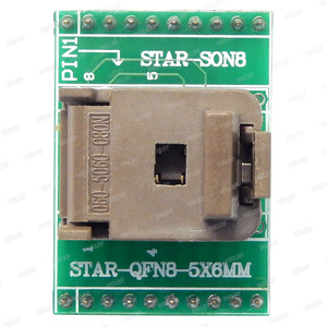 Image 5 - QFN8 to DIP8 Programmer Adapter WSON8 DFN8 MLF8 to DIP8 socket for 25xxx 5x6mm Pitch=1.27mm