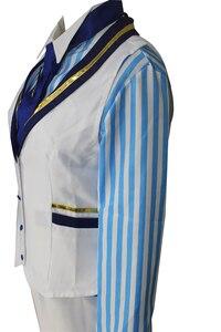 Image 4 - Fate Gran Orde FGO Sciabola King Arthur Cosplay Costume Outfit Pendragon Bianco Rosa Re di Cavalieri Cosplay