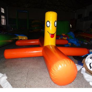 Park rozrywki wodne zabawki wodne gry sportowe gigantyczny pływający pies na basen tanie i dobre opinie 3 lat Plac zabaw na świeżym powietrzu PVC mesh cloth