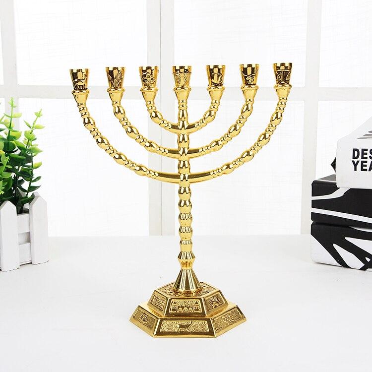 Христос Иисуса Золотой фонарь маятник подсвечник церковный стол украшение стола образец Сакральная статуя церковные принадлежности