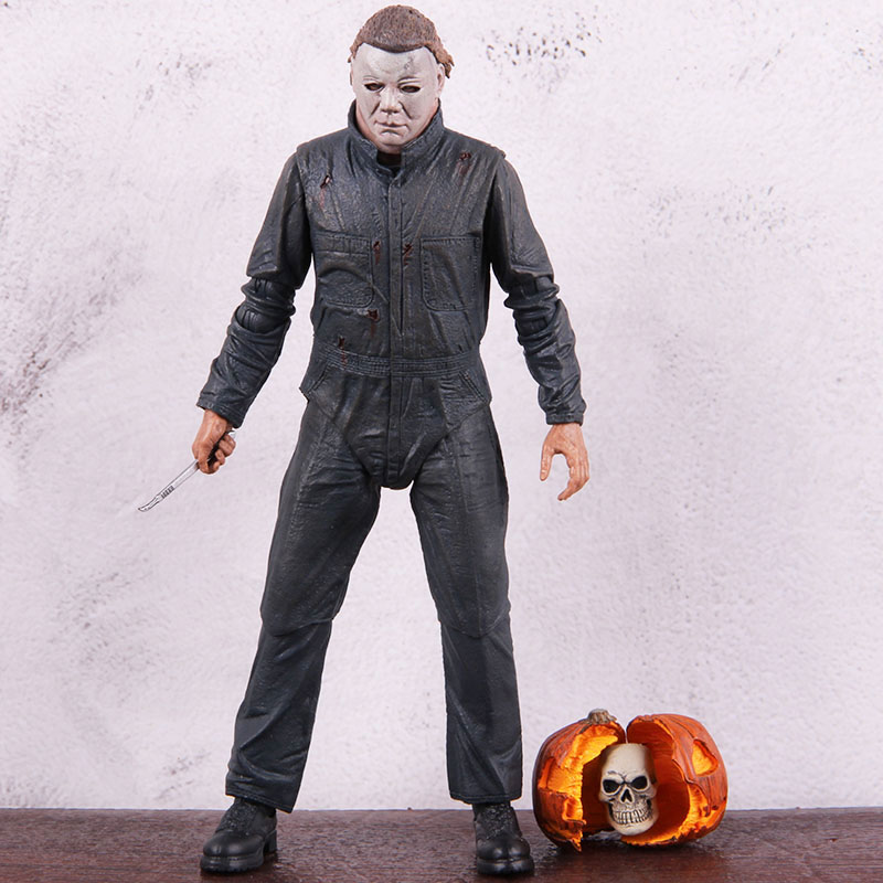 Neca Figures Halloween II Ultimate Michael Myers PVC Western Movie Action Figure Collectible Model Toy Gift