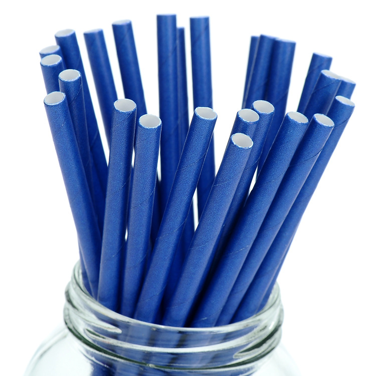 Straw Environmentally Friendly Biodegradable Food Packaging Paper Straw Online Celebrity Party Straw Fruit Juice Paper Sucker
