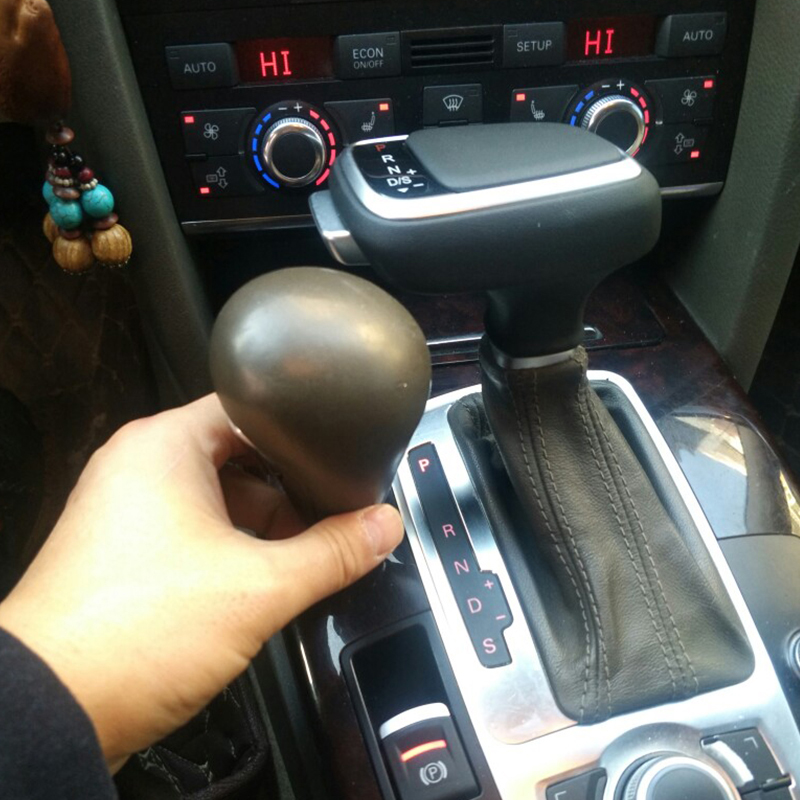 Car Accessories Gearbox Handles Gear Shift Knob Lever Stick Head for Audi A4 b6 A6 C7 b7 A7 a5 a3 8l Q5 Q7 S5 S6 Q3 b8