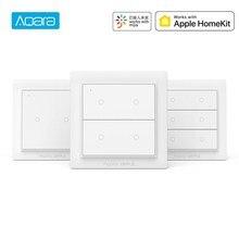 Internationalen Version Aqara Opple Drahtlose Szene Schalter Wand Licht Schalter Zignee 3,0 Unterstützung Mijia App Apple HomeKit