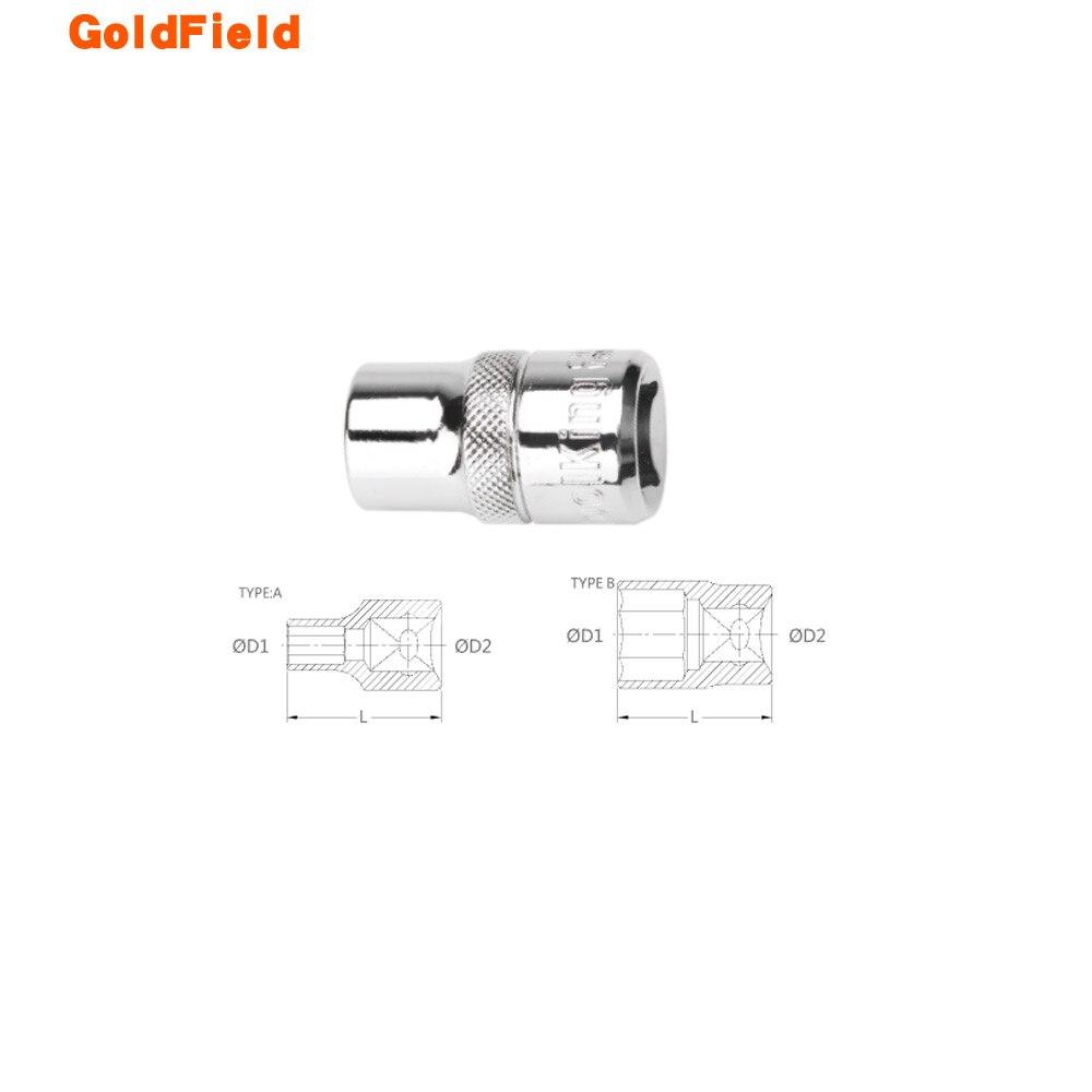 Conjunto de Soquete Reparação tipo de Ferramenta Soquete Curto Hexágono Crv Ferramentas Manuais Sextavado ab 8mm-32mm 12.5mm 1 – 2 12pt