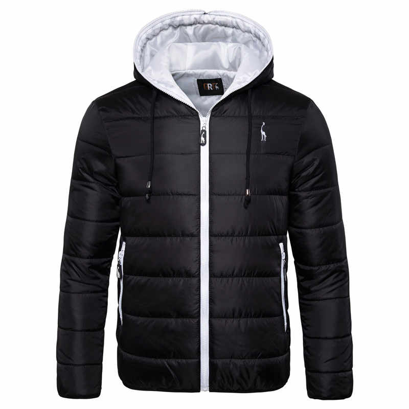 2019 nueva chaqueta de invierno impermeable Parka con capucha para hombre abrigo de invierno cálido para hombre chaqueta de camuflaje con cremallera gruesa para hombre
