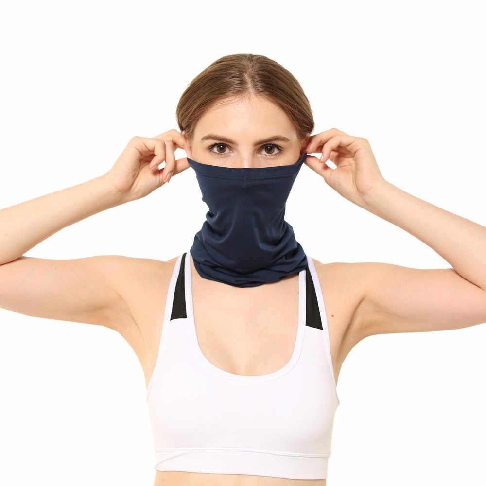 ผู้ชายผู้หญิงกลางแจ้งขี่จักรยาน turban หน้ากากหญิง windproof Sun ป้องกันคอชาย Neutral หัวผ้าพันคอคอหน้ากาก