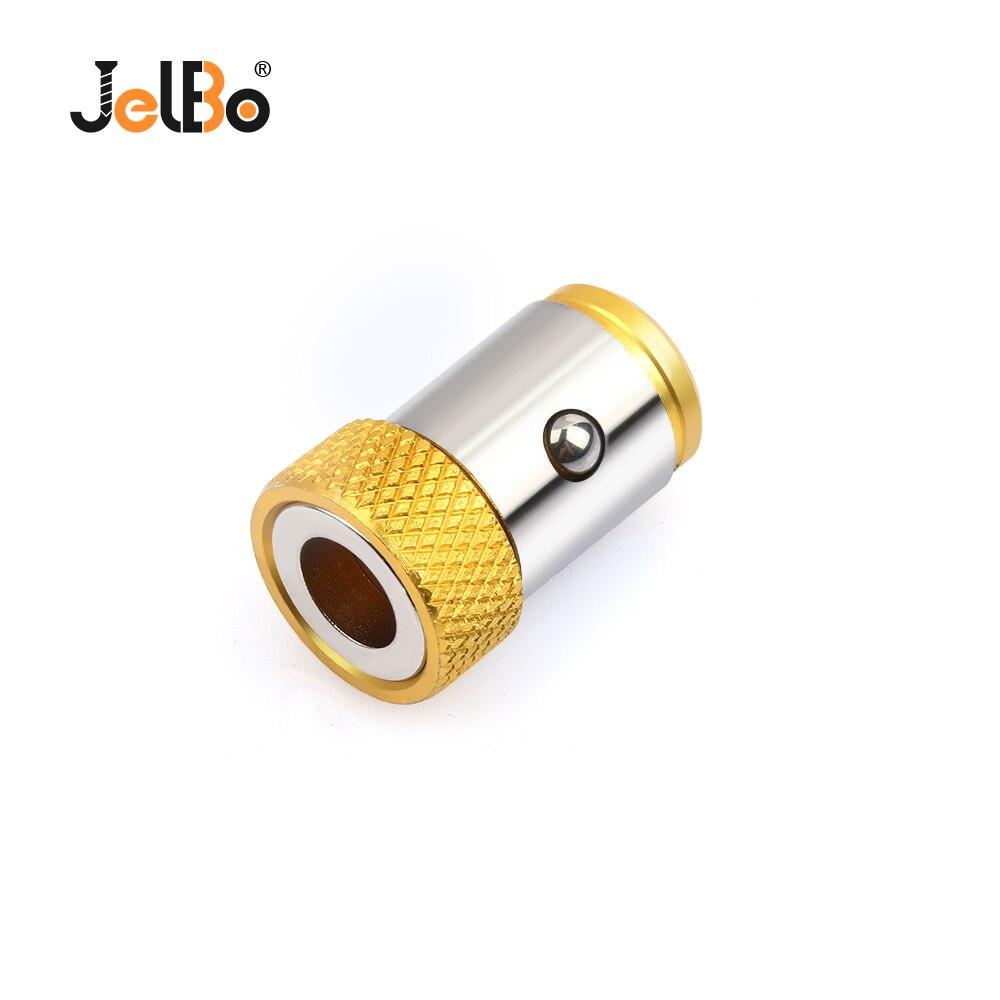 JelBo 1PC Screwdriver Bits Magnetic Ring 1/4