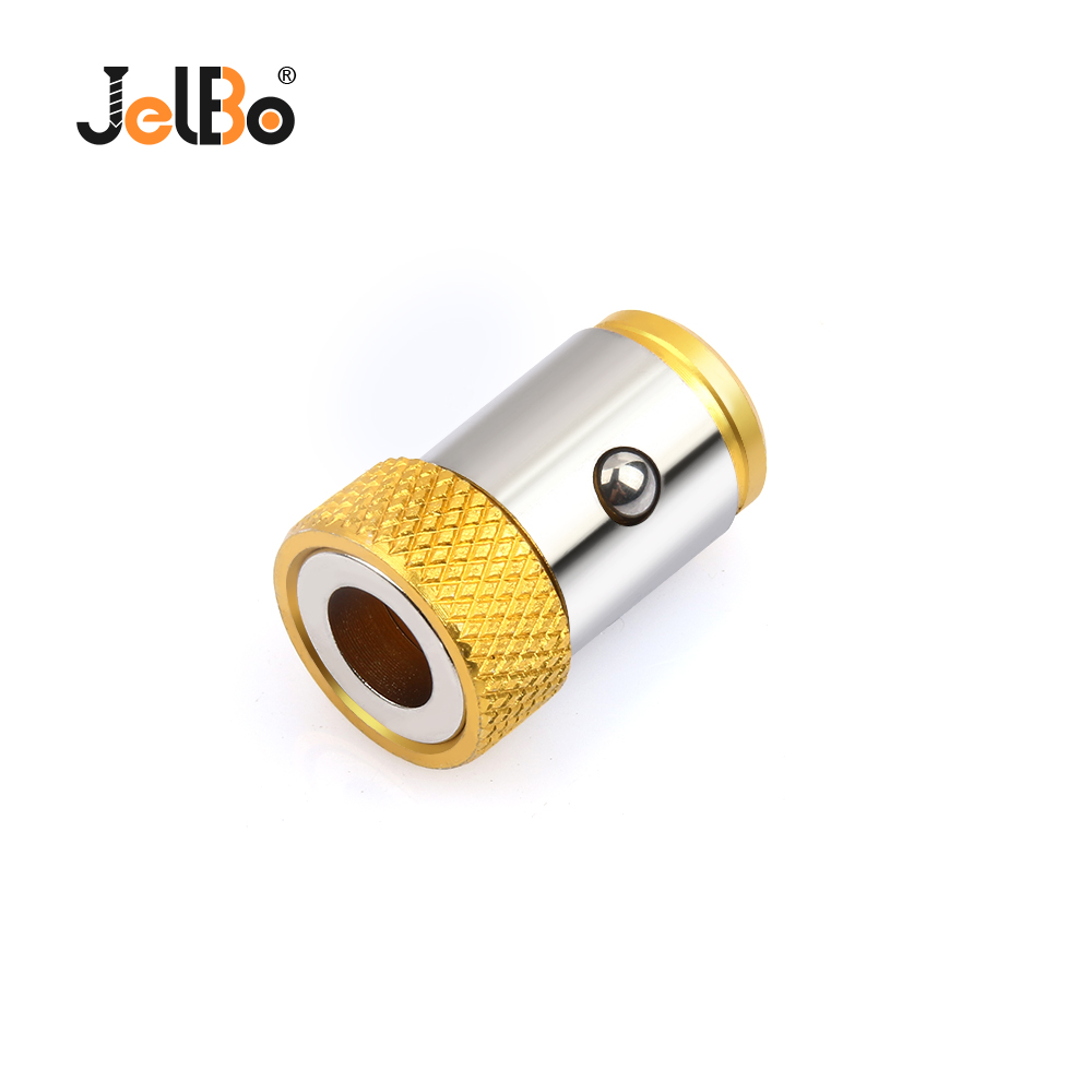 "JelBo 1PC Screwdriver Bits Magnetic Ring 1/4"" 6.35mm Metal Strong Magnetizer Screw"