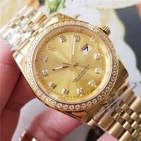 AAA automatic mechanical ladies watch top brand luxury Womens 2019 watch stainless steel diamond mechanical watch womens watch36
