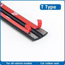 Automobie Rubber Strip Edge Sealing Strips Auto Roof Windshield Sealant Protector Seal Strip Sound Insulation Window Seals for