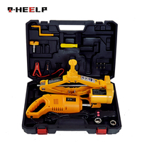 E-HEELP Car Jacks 12V 3T jack Electric Car Jack And Electric Impact Wrench  for Vehicle And SUV Car Lift Jack Tool Set