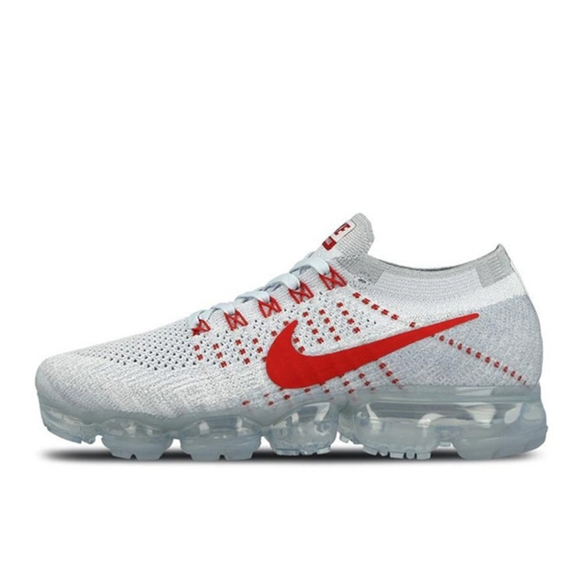 Authentic Original Nike Air VaporMax Flyknit Men's Running Shoes Fashion Outdoor Sports Trend 2019 New Breathable 849558-400