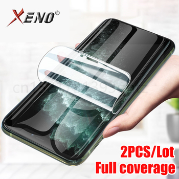 2Pcs Full Curved Screen Hydrogel Film On The For Samsung Galaxy S10 S9 S8 S20 Plus Ultra Note 10 9 Protective Soft Film No Glass image