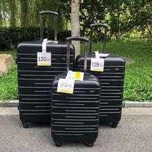 """Travel tale 2"""" 24"""" 2"""" дюймовый из АБС-пластика с возможностью расширения багажные наборы 3 предмета в комплекте koffer набор spinner Набор чемоданов на колесиках"""