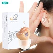 Cofoe CIC слуховые аппараты невидимые слуховые аппараты мини-усилитель звука цифровые слуховые аппараты для слухового пациента