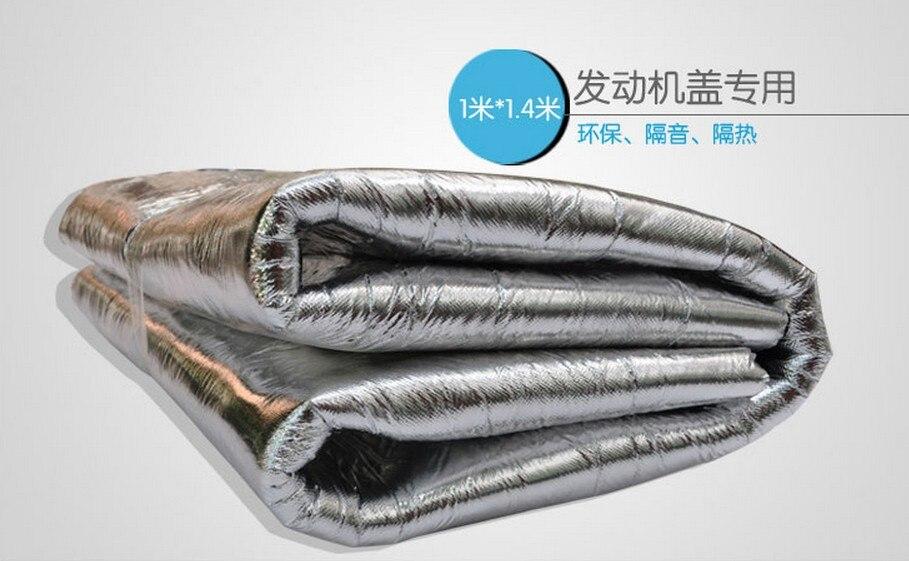 Statique PA moteur couverture isolation thermique mousse/moteur isolation phonique coton/capot isolation phonique coton haute qualité matériel So