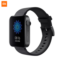 Orijinal Xiao mi akıllı mi İzle GPS NFC WIFI ESIM telefon görüşmesi bilezik Android kol saati spor Bluetooth nabız monitörü