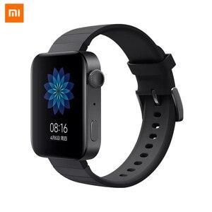 Image 1 - מקורי שיאו mi חכם mi שעון GPS NFC WIFI ESIM טלפון שיחת צמיד אנדרואיד שעוני יד ספורט Bluetooth קצב לב צג