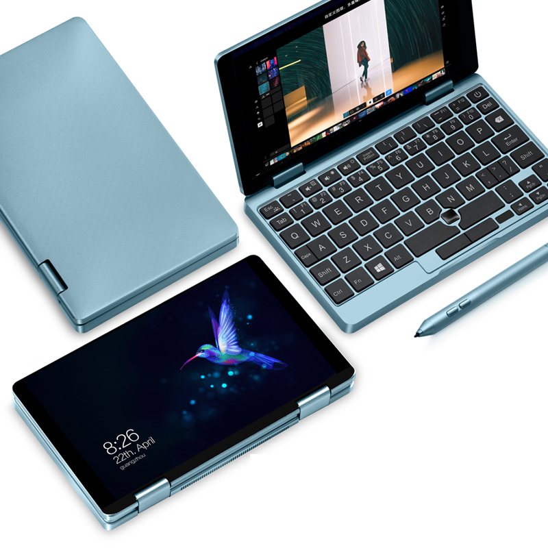 One-Netbook One Mix 1S  Yoga Pocket Laptop M3-8100Y MINI PC 7 inch IPS 1920 1200 Touch Screen Win10 8GB 256GB notebook