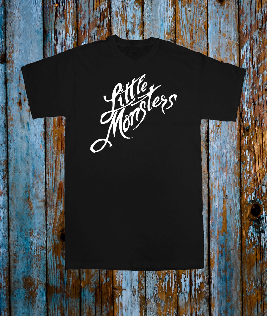 LADY GAGA LITTLE MONSTERS FAN TOUR T SHIRT CONCERT TEE SONG UNISEX TSHIRT GIFT 100% Cotton Short Sleeve O-Neck Tops Tee Shirts image